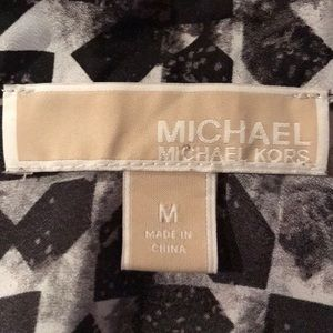 MICHAEL Michael Kors Tops - Michael Kors Black White Blouse M
